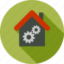 business, company building, construction, factory, industrial, industry, plant icon