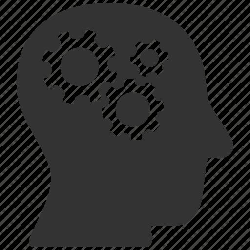 brain organ, brainstorm, genius, head, logic, memory, strategy icon