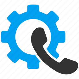 business, gear, options, phone, settings, technology, tools icon