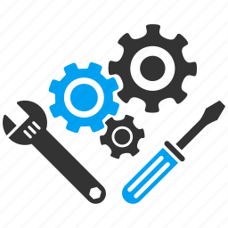 application tools, mechanics, options, preferences, service, system configuration, work icon