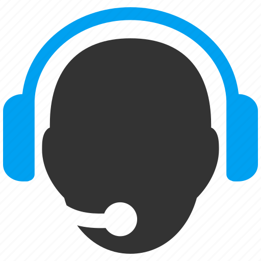 call center, customer support, emergency assistant, head, operator, professional headset, speaker icon