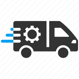 auto, business, emergency car, service, support, transportation, vehicle icon