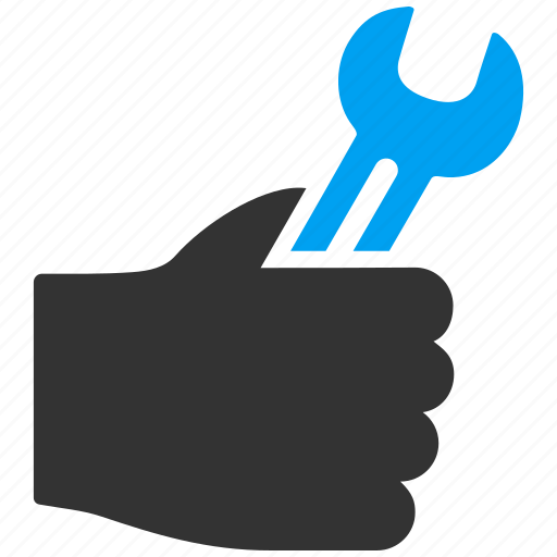 business, hand, help, service, support, tools, work icon