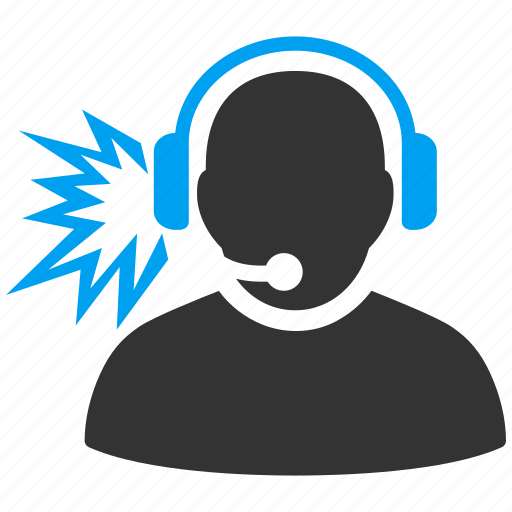 call center, customer service, headset, listen, message, operator, support icon