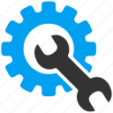 installation, repair, setting, setup, spanner, work, wrench icon