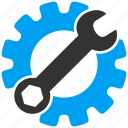 gear, options, preferences, repair, service, settings, tools icon