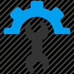 service, tools, v9 icon