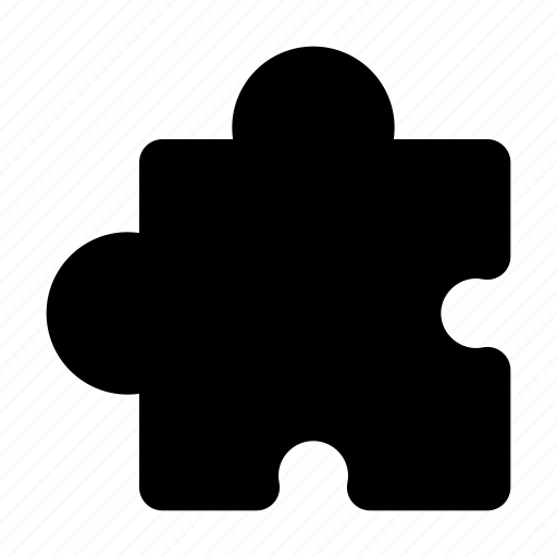element, piece, process, puzzle, think icon
