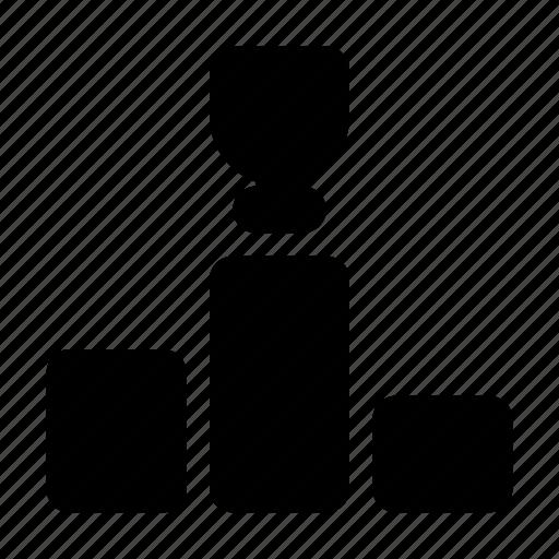 award, cup, podium, rostrum, winner icon