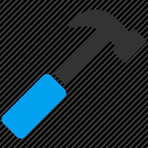 build, equipment, hammer, job, repair, tool, work icon
