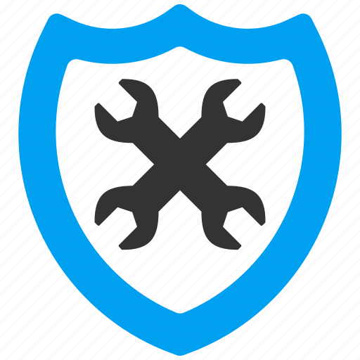 configuration, options, preferences, protection, safety, security, shield icon