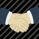 business, hands, handshake, office icon