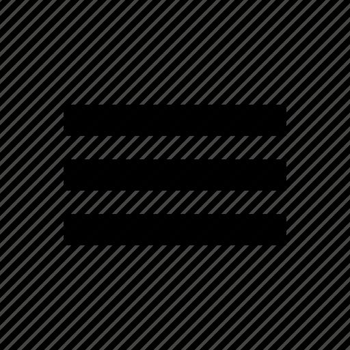 bullet, hamburger, lines, list, menu icon