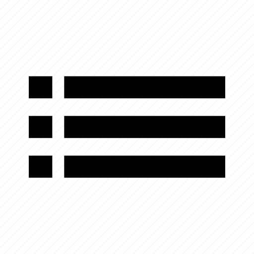 Hamburger, lines, list, menu icon - Download on Iconfinder
