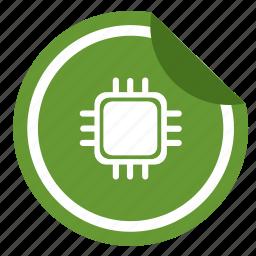 chip, digital, nfc, pay, sticker, transfer icon