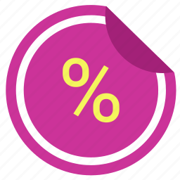 discount, label, sale, shopping, sticker icon