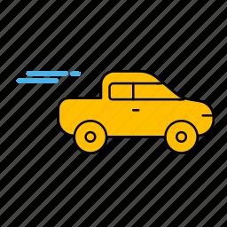 car, car icon, fast, ride icon