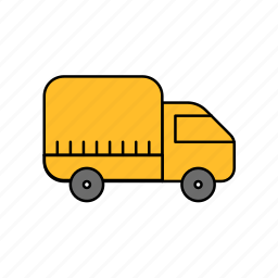 car, ride, truck, truck icon icon