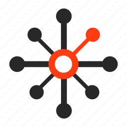 connection, internet, network, share icon