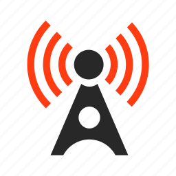 air, connection, gsm, network, wave, wifi icon