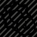 arrow, configuration, download, option, setting icon