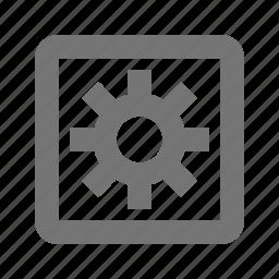 configuration, gear, settings icon