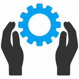 control, gear, maintenance, project, service, settings, support icon