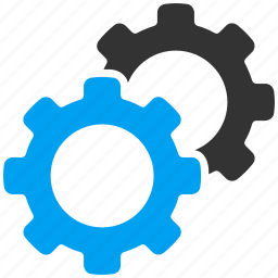 configuration, gears, options, preferences, settings, system, technology icon