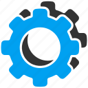 configuration, gears, options, preferences, settings, system icon