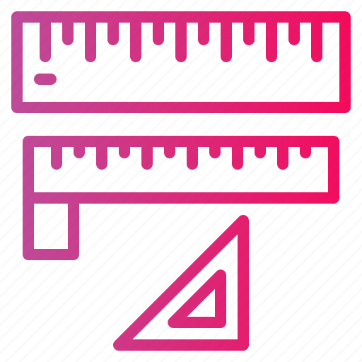 Design, graphic, measuring, ruler, triangle icon - Download on Iconfinder