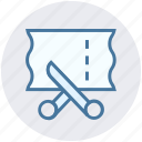clothe, cutting, dressmaker, scissor, sewing, tailor icon