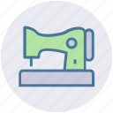 clothing, home, machine, stitching machine, swing, tailor machine icon