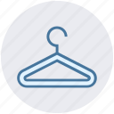 clothes hanger, fashion, hanger, shop, tailor icon