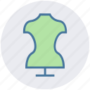 cloth, dress, fashion, female dress, frock, ready dress icon