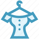 cloth, dress, dress hanger, fashion, frock, hanger icon