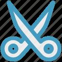 cut, cutter, edit, scissor, sewing, tailoring icon