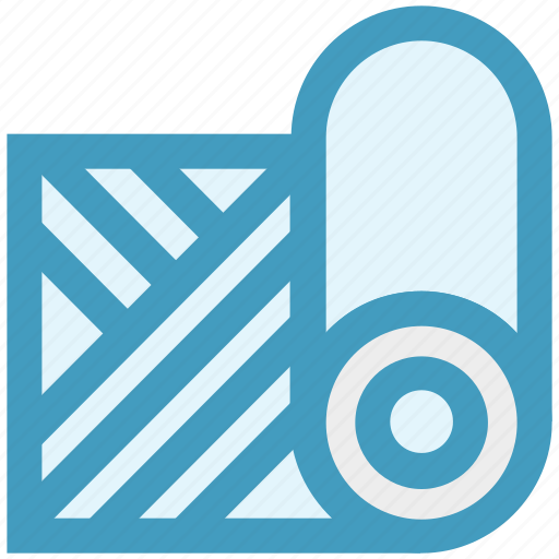 fabric, knit, machine, sewing, tailoring icon