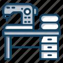electric stitching, embroidery machine, machine, sewing machine, stitching machine icon