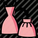diy, dress, reform, reshape, sew, sewing, skirt