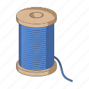 equipment, reel, sewing, studio, tailoring, thread, tool icon