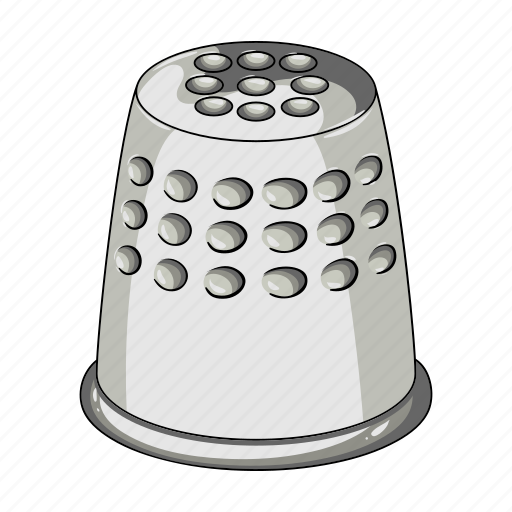 equipment, sewing, studio, tailoring, thimble, tool icon