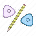chalk, equipment, pencil, sewing, studio, tailoring, tool icon