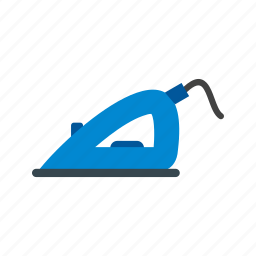 clean, clothing, home, iron, laundry, shirt, steam icon