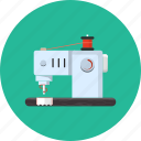machine, sewing, stitch, thread, tool icon
