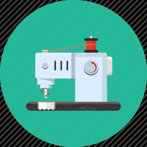 machine, sewing, stitch, thread, tool icon