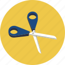 scissors, shears icon