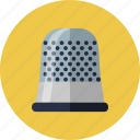protection, sewing, tailor, thimble icon