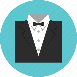 bowtie, clothes, suit icon