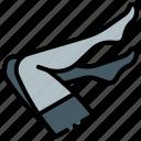 fetish, hosiery, lingerie, stockings icon
