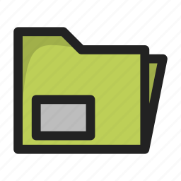 business, document, file, finance, records icon
